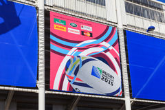 2015 Rugby Union World Cup Royalty Free Stock Photo