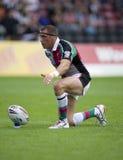 rugby v för liga för bradford tjurharlequins Royaltyfri Foto