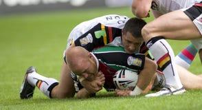 rugby v för liga för bradford tjurharlequins Royaltyfri Bild