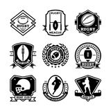 Rugby Vector Icons 26. Here is an awesome set of rugby badges that you are sure to find very useful. Hope you really enjoy using them Royalty Free Stock Photography