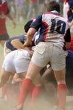 Rugby - violenza gestita! Immagine Stock