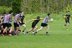 Rugby w Nowa Zelandia Zdjęcia Royalty Free