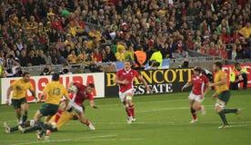 Rugby-Weltcup Australien 2011 gegen Wales Lizenzfreie Stockbilder