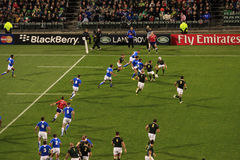 Rugby-Weltcup Südafrika 2011 gegen Namibia Lizenzfreies Stockfoto