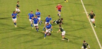 Rugby-Weltcup Südafrika 2011 gegen Namibia Lizenzfreie Stockbilder
