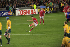 Rugby World Cup 2011 Australia versus Wales Royalty Free Stock Image