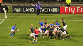 Rugby World Cup 2011 South Africa versus Namibia Royalty Free Stock Image