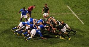 Rugby World Cup 2011 South Africa versus Namibia Stock Image