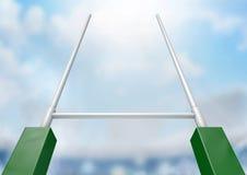 Rugby Wysyła stadium dzień Obrazy Stock