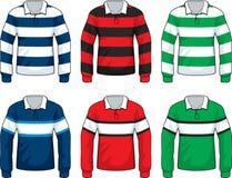 rugby z jersey ilustracja wektor