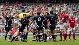 Rugby zjednoczenie: Wojsko vs marynarka wojenna Zdjęcie Stock