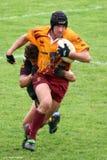 Rugbyabgleichung Stockfotografie
