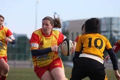 Rugbyabgleichung USAT (Frankreich) v GETXO (Spai Stockfoto