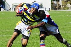 Rugbyaktion Lizenzfreie Stockfotografie