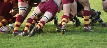 Rugbyanschluß Lizenzfreie Stockbilder