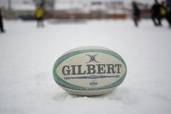 Rugbyball Gilbert Stockbild