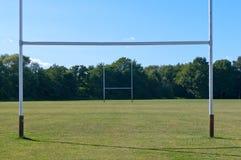 Rugbyfält Royaltyfri Bild