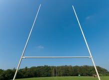 Rugbyfeld Stockbild