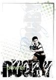 Rugbyhintergrund 2 Lizenzfreies Stockfoto
