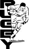 Rugbyman Photographie stock libre de droits