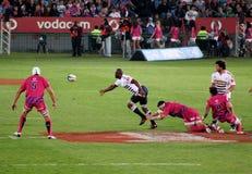 RugbySiya Kolisi Stormers Sudafrica 2012 Immagine Stock Libera da Diritti