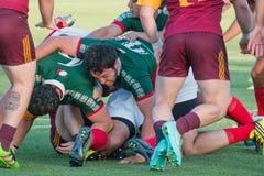 Rugbyspel Stock Fotografie