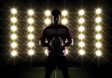 Rugbyspelare Arkivbilder