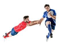 Rugbyspelaremän Royaltyfria Bilder