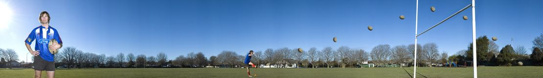 Rugbyspieler Stockfoto