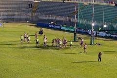 Rugbytraining Lizenzfreies Stockbild