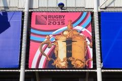 2015 Rugbyunie Wereldbeker Royalty-vrije Stock Afbeelding
