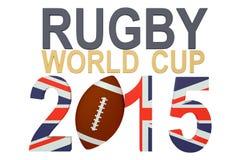 Rugbyvärldscup Storbritannien 2015 Royaltyfria Bilder