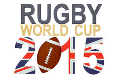 Rugbywereldbeker 2015 Groot-Brittannië Royalty-vrije Stock Afbeeldingen