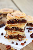 Rugelach Bars Stock Photography