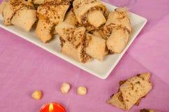 Rugelach ciasto Fotografia Stock