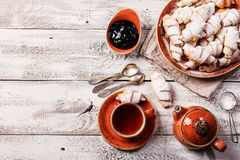 Rugelach with jam Royalty Free Stock Image