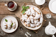 Rugelach with jam Royalty Free Stock Photos