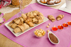 Rugelach pastry Royalty Free Stock Image