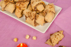 Rugelach pastry Stock Photography