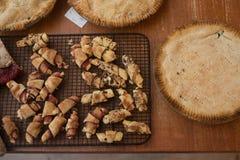 Rugelah y empanadas imagen de archivo libre de regalías