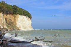 Rugen ö, Östersjön, Tyskland Arkivbilder