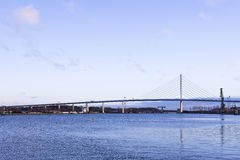 Rugen Bridge, Hanseatic City Stralsund, Germany Royalty Free Stock Photo