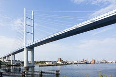 Rugenbruecke bridge Stralsund Royalty Free Stock Photography
