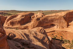 Rugged Arches National Park Landscape Royalty Free Stock Photography
