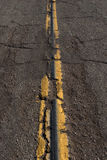 Rugged Asphalt Road Stock Image