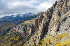Rugged Autumn Mountains Royalty Free Stock Photography