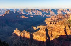 Grand Canyon North Rim Scenic. The rugged beauty of the grand canyon from the north rim Royalty Free Stock Images