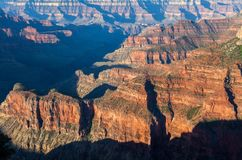 Rugged Grand Canyon North Rim Landscape. The rugged beauty of the grand canyon from the north rim Royalty Free Stock Photos