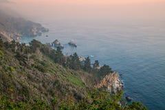 Rugged Big Sur Coast Stock Images