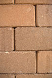 The rugged brick wall. The brick walls are arranged so durable Stock Image